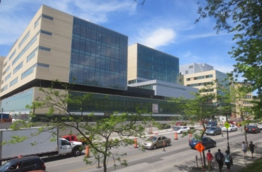 CHU Sainte-Justine Children's Hospital expansion